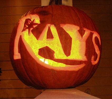 Rays Pumpkin 2008